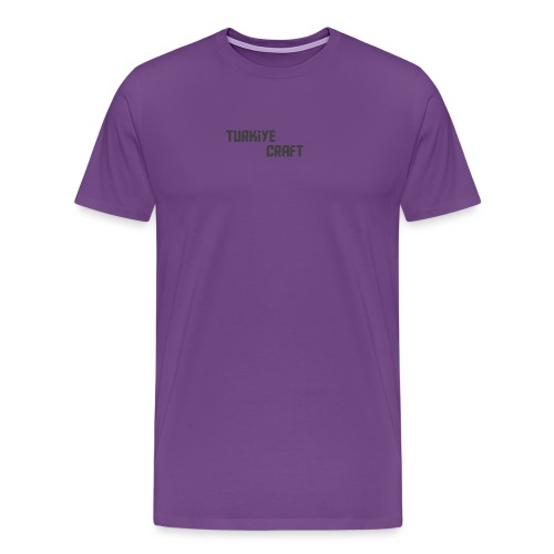 TurkiyeCrafts Solid Logo - Men's Premium T-Shirt