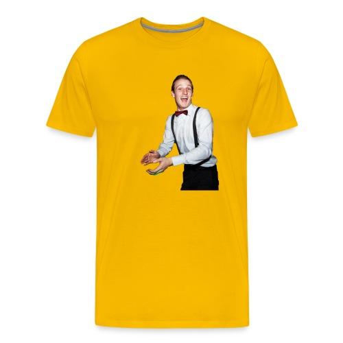 Matt Orange shirt. Christmas presant. - Men's Premium T-Shirt
