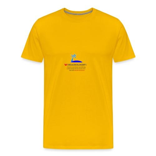 beachologist - Men's Premium T-Shirt