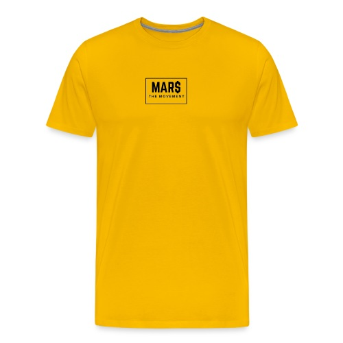 MAR$ Orginal White T-Shirt - Men's Premium T-Shirt