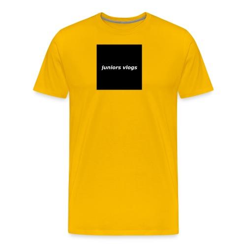 Juniors vlogs clothing - Men's Premium T-Shirt