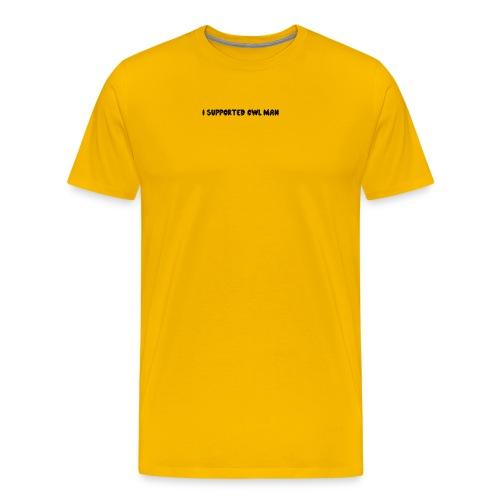 Official Owl-Man Supporter Shirt - Men's Premium T-Shirt