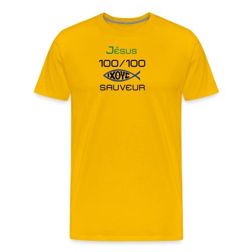 jesus100 - Men's Premium T-Shirt