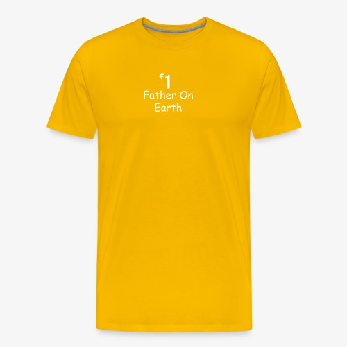 Father On Earth - Men's Premium T-Shirt