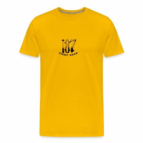 Trevor Loomes 187 Fight Gear Logo Best Sellers - Men's Premium T-Shirt