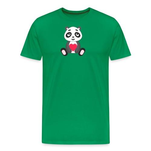 Sweetheart Panda - Men's Premium T-Shirt
