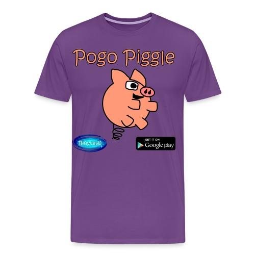 Pogo Piggle - Men's Premium T-Shirt