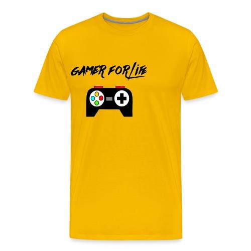 gamer for life1 - Men's Premium T-Shirt