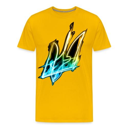 Ablaze trident - Men's Premium T-Shirt