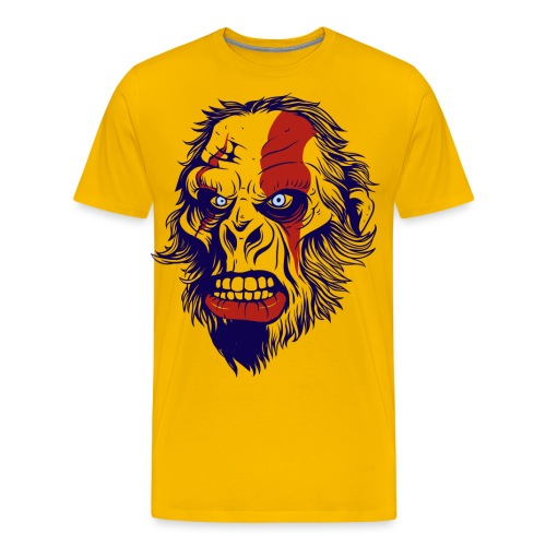 Gorilla war fare - Men's Premium T-Shirt
