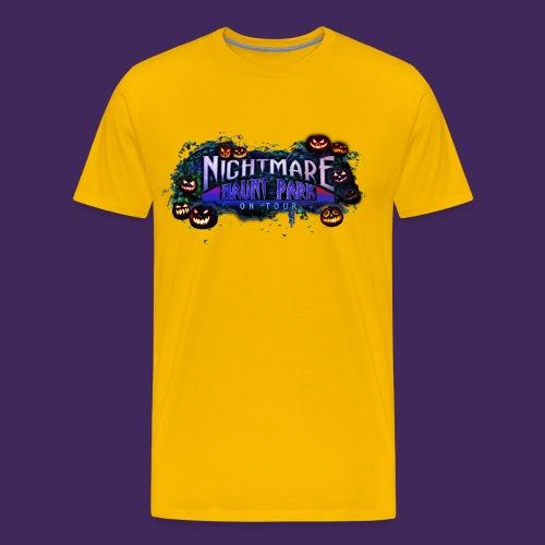 NHP CarvedF png - Men's Premium T-Shirt