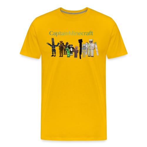 CaptainMinecraft - Men's Premium T-Shirt