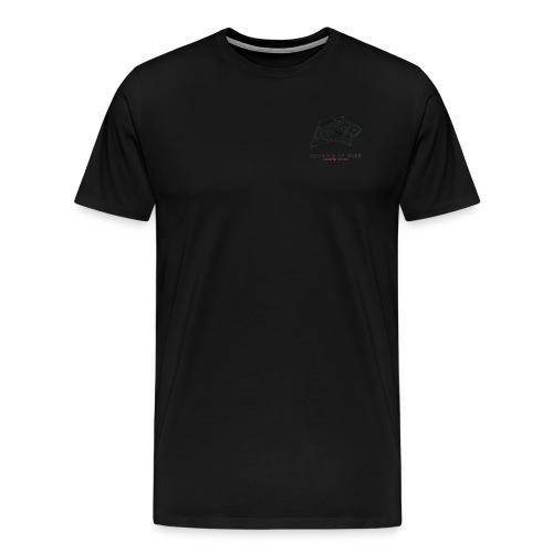 tiger head logo with web png - Men's Premium T-Shirt