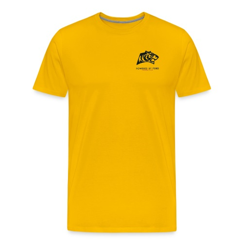 tiger head logo with web png - Men's Premium T-Shirt