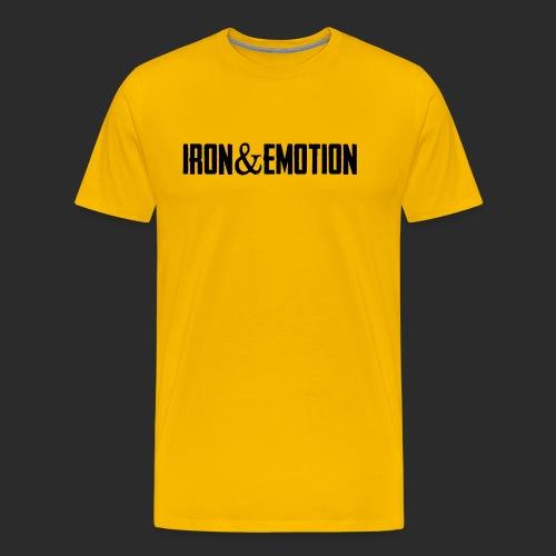 IRON EMOTION s - Men's Premium T-Shirt