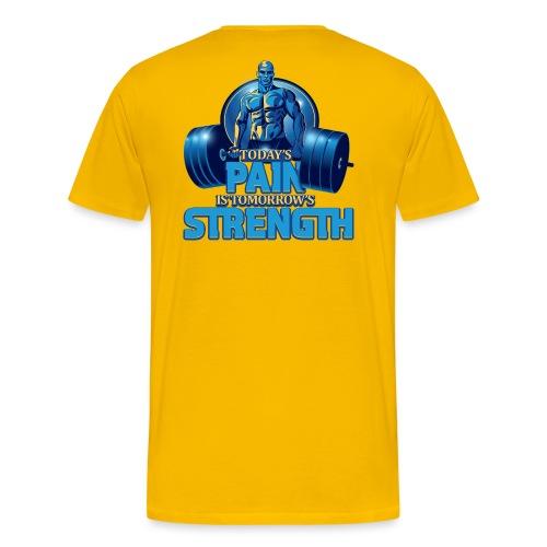 Heavy Lifting Man - Men's Premium T-Shirt