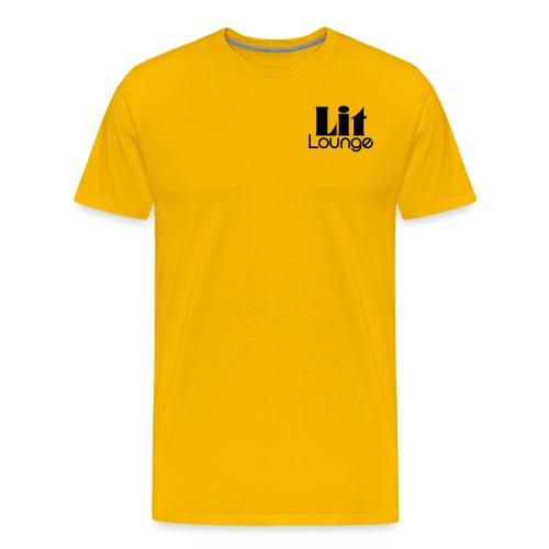 Lit Lounge Logo - Men's Premium T-Shirt