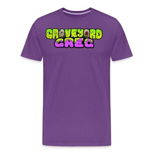 Graveyard Greg Logo! - Men's Premium T-Shirt