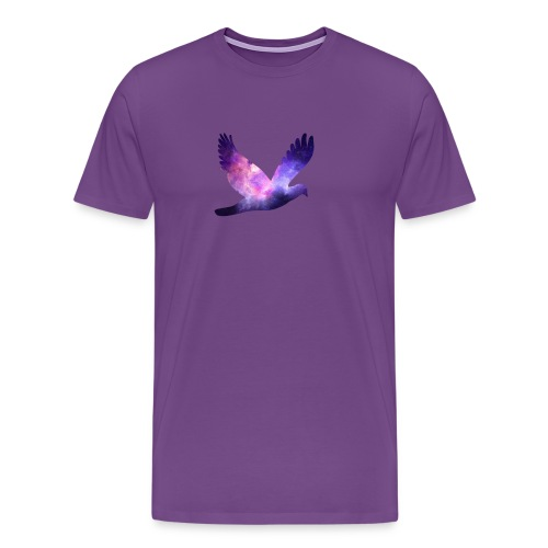 Galaxy bird - Men's Premium T-Shirt