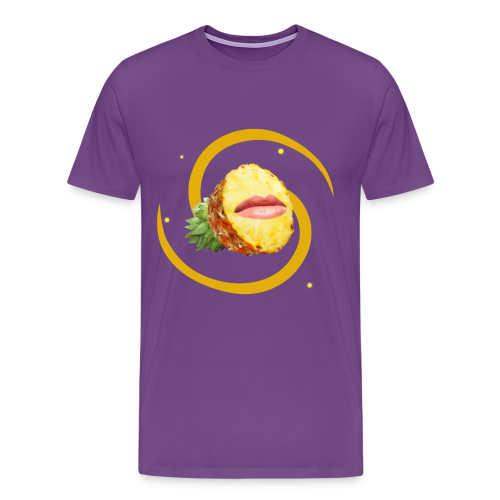 Pineapple Face (FruityPunch game) - Men's Premium T-Shirt