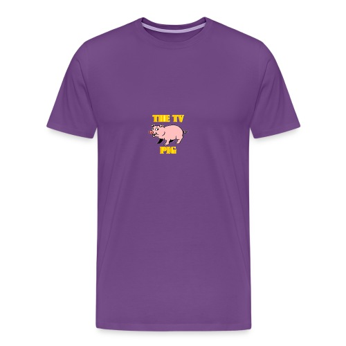 Official TV Pig Merchandise - Men's Premium T-Shirt
