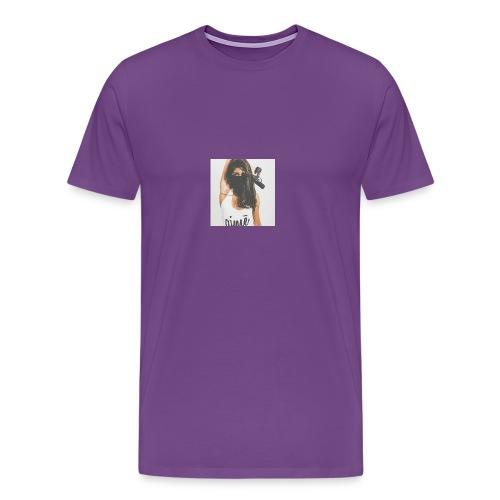 Deadly Woman LOGO - Men's Premium T-Shirt