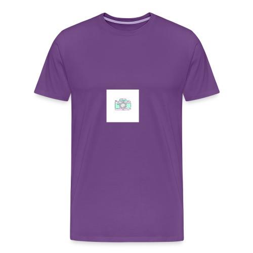 vlogger's jumper - Men's Premium T-Shirt
