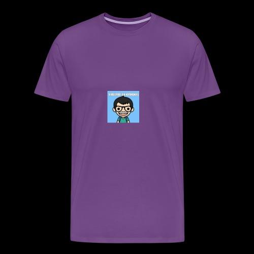 Nathaniel Madrigal - Men's Premium T-Shirt