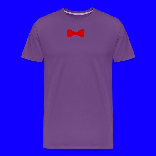 red bow tie - Men's Premium T-Shirt