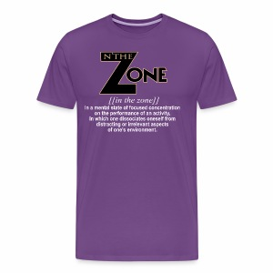 in the zone definition 1 - Men's Premium T-Shirt