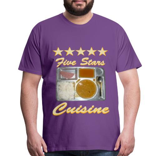5 Stars Cuisine - Men's Premium T-Shirt