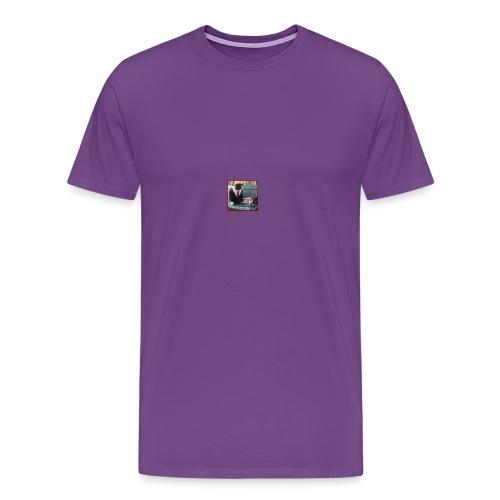 Charlie lets make dog parks great again! - Men's Premium T-Shirt