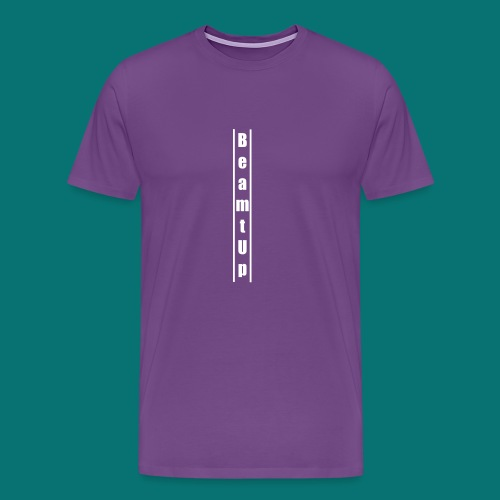 Vertical Sleeve Logo - Men's Premium T-Shirt