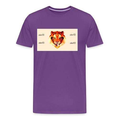 zakor´s123 official T-shirt - Men's Premium T-Shirt