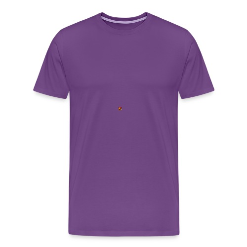 BIG CRAZY APPLE LOGO - Men's Premium T-Shirt