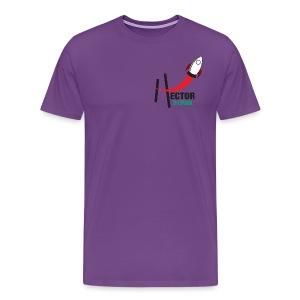 Playera HectorES Logo a Color - Men's Premium T-Shirt