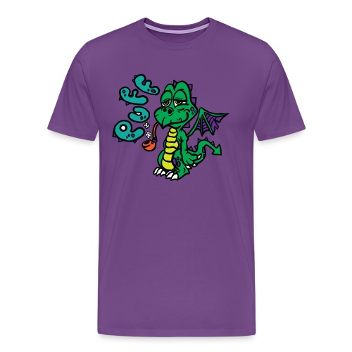 Puff the Magic Dragon - Men's Premium T-Shirt