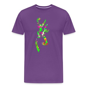 multi color deer - Men's Premium T-Shirt