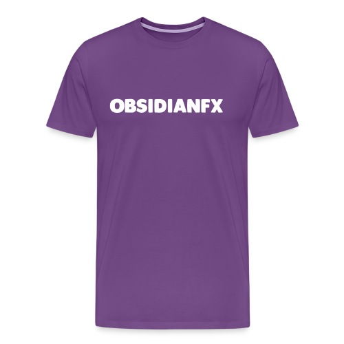 ObsidianFX Merch - Men's Premium T-Shirt