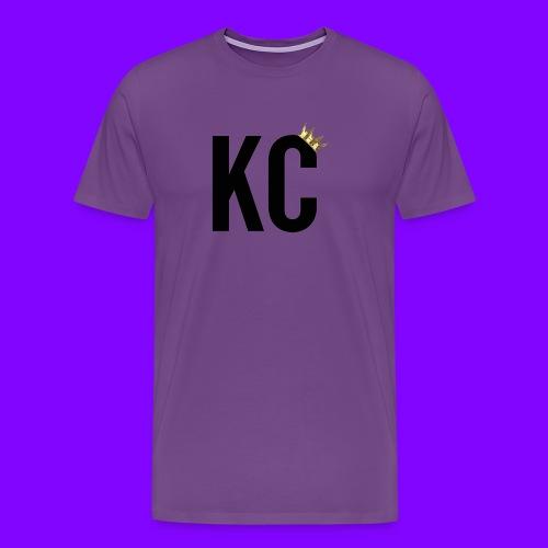 Black Font KC - Men's Premium T-Shirt
