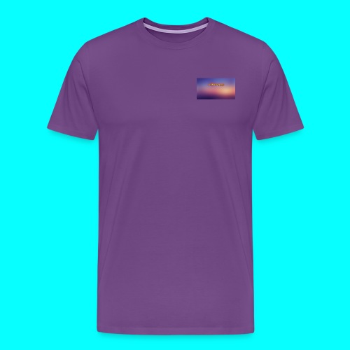 Justin Veach Purple - Men's Premium T-Shirt