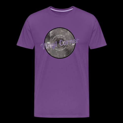 The Vinyl Corner - Deep purple - Men's Premium T-Shirt