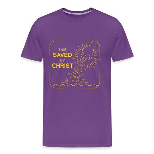 Be saved Christian T-shirt - Men's Premium T-Shirt