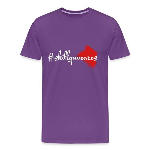 SkillQuo Cares - Men's Premium T-Shirt