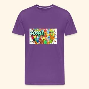 DOODLE SQUAD SPECIAL EDITION HOW TO DOODLE - Men's Premium T-Shirt