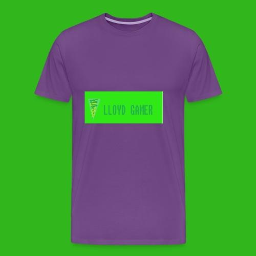 logo green - Men's Premium T-Shirt