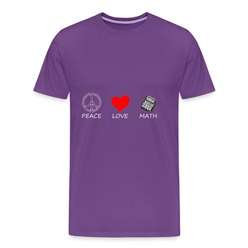 peace love6 - Men's Premium T-Shirt