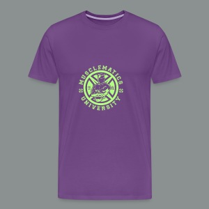 ALUMNI HIGH LIME - Men's Premium T-Shirt