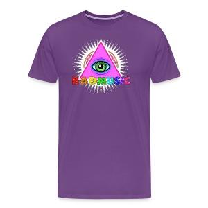 Illuminati BadMusic - Men's Premium T-Shirt