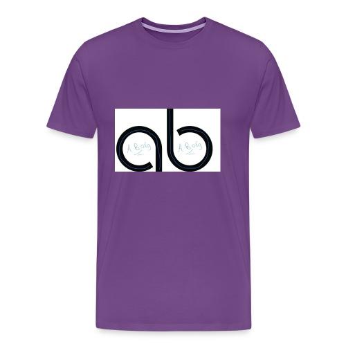 Ab signature merch - Men's Premium T-Shirt